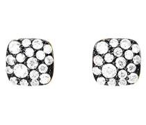 ! Damen-Ohrstecker JP-M PAVE Ohrring 925 Silber teilvergoldet Zirkonia weiß-JPER90362E000