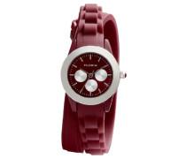 Damen-Armbanduhr XS Analog Quarz Kautschuk 701346304
