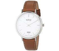 Damen-Armbanduhr Analog Quarz Leder 3590-01