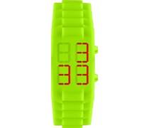 Jacques Lemans Unisex-Armbanduhr  Digital Quarz Silikon 374F