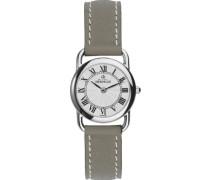 Damen Armbanduhr Analog Leder beige 17467/08TA