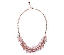 Cristabel rosa Perlen mit Kette 43 cm Länge