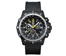 RECON Leader Herren-Armbanduhr Chronograph Quarz Plastik - XL.8842.MI.SET