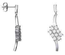 Damen-Ohrhänger 925 Sterling Silber rhodiniert Glas Zirkonia L'Éclair weiß S.PCER90244A000