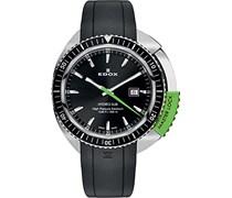 EDOX Unisex-Armbanduhr EDOX HYDRO SUB Analog Quarz Kautschuk 53200 3NVCA NIN