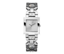 –W90047L1Damen-Armbanduhr 045J699Analog silber Armband Stahl Silber