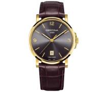 Certina Herren-Armbanduhr XL Analog Quarz Leder C017.410.36.087.00