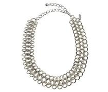 - Silber Choker Vergoldet, 30-40 cm