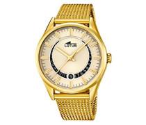 Herren-Armbanduhr Analog Quarz Edelstahl 15976/1