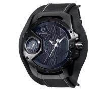 Herren-Armbanduhr Steppen black Analog Quarz DT-YG104-C