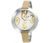 Damen-Armbanduhr Analog verschiedene Materialien 155-1704-12