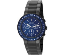Herren-Armbanduhr XL Insight Chronograph Quarz Edelstahl JP100911F03