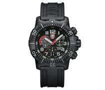 Herren-Armbanduhr ANU Chronograph Quarz Kautschuk 4241