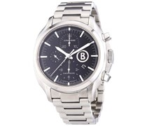 Junghans Herren-Armbanduhr XL Bogner Willy Chronoscope Chronograph Automatik Edelstahl 027/4266.44