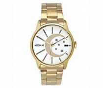 Damen-Armbanduhr Analog Quarz Metall KO 001/1BM