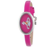 Damen-Armbanduhr Medal Analog Leder pink VV019PK