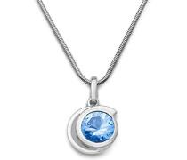 Damen Halskette 925 Sterling Silber rhodiniert 45 cm MSM220N