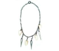 M&M Damen-Halsband 925 Sterling Silber Perlmutt MC-1637