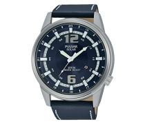 Herren-Armbanduhr Analog Quarz Leder PX3083X1