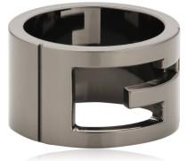 Damen-Ring breit in Schwarz 925 Sterling silber Gr.52 YBC22403100152