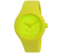 Unisex-Armbanduhr Analog Quarz Gelb NF0206YLLW