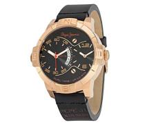 Pepe Jeans Herren-Armbanduhr CARRIE Analog Quarz Leder R2353102508