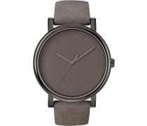 Damen-Armbanduhr Grau Analog Leder T2N795D7