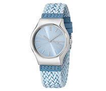 Pepe Jeans Damen Uhrenbeweger Collection JOEY Leder blau R2351113502