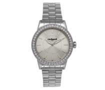 Damen-Armbanduhr Analog Quarz Edelstahl CLD 010S-FM