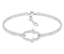 Armband Hamsa Hand Fatima Swarovski Kristalle 925 Silber 0212640216