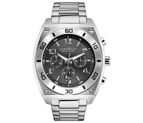 Caravelle New York Herren-Armbanduhr Chronograph Quarz Edelstahl 43A120