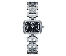 4539.7137 Women'schweizer Uhr Armbanduhr Analog Edelstahl silber