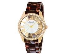Damen-Armbanduhr XS Transparency Analog Resin KC4861