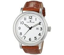 TOM TAILOR Watches Herren-Armbanduhr Analog Quarz Leder 5415203