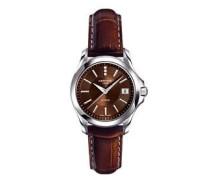 Damen-Armbanduhr XS Analog Quarz Leder C004.210.16.296.00