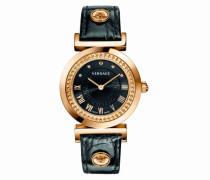 Damen-Armbanduhr XS Vanity Analog Quarz Leder P5Q80D009S009