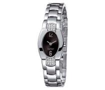 Damen-Armbanduhr Analog Quarz Edelstahl ES102262002