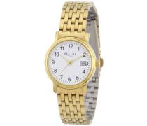 Damen-Armbanduhr XS Analog Edelstahl beschichtet 12210874