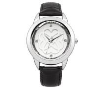 Morgan Damen-Armbanduhr Analog Quarz Schwarz M1181B