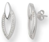 Miore Damen-Ohrringe 925 Sterling-Silber mit Zirkonia MSM051E
