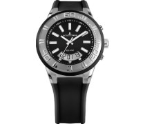 Jacques Lemans Unisex-Armbanduhr Miami Analog - Digital Quarz Silikon 1-1786A