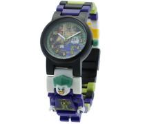 LEGO Unisex-Armbanduhr DC Universe Joker Analog Quarz Plastik 8020240