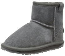 Emu Wallaby Mini K10103 Unisex -  Kinder Stiefel, Grau (Charcoal), 29 EU (11 UK)