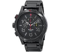 Unisex-Armbanduhr The 48-20 Chrono Chronograph Quarz Edelstahl beschichtet A4861320-00