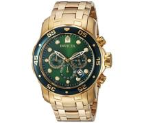 Invicta Herren-Armbanduhr Quarz Chronograph 0075