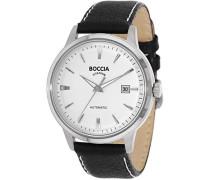 Herren-Armbanduhr Analog Automatik Leder 3586-01