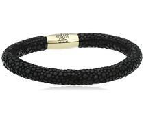 Damen-Armband JLo Reptil Edelstahl teilvergoldet Leder 20.0 cm - 1053-20