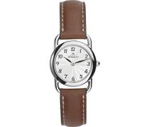 Michel Herbelin Damen - 17467/28GO Damen-Armbanduhr Lolla Quarz analog Leder Braun