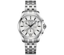 Certina Damen-Armbanduhr Chronograph Quarz Edelstahl C004.217.11.036.00
