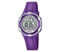 Damen-Armbanduhr Digital Quarz Plastik K5692/5